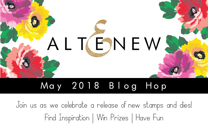 Altenew Blog Hop, Shari Carroll