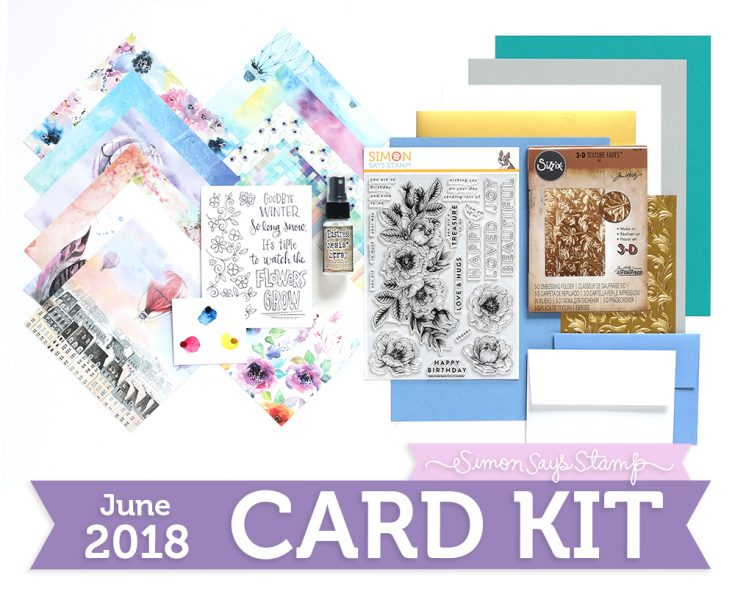 Fly Me Away June 2018 Card Kit