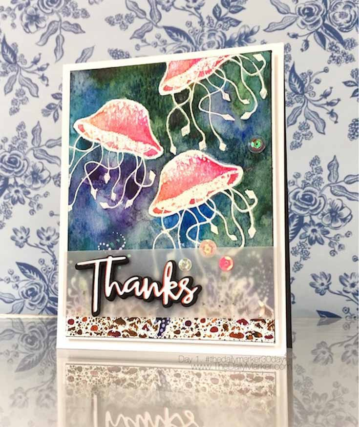Kathy Racoosin Simon Says Stamp May Throwback Thursday Under the Sea stamp set STAMPtember® 2017
