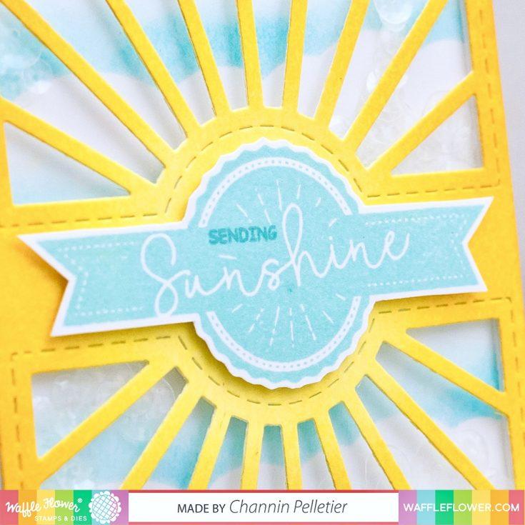 NEW Waffle Flower: Sun Shaker Card!