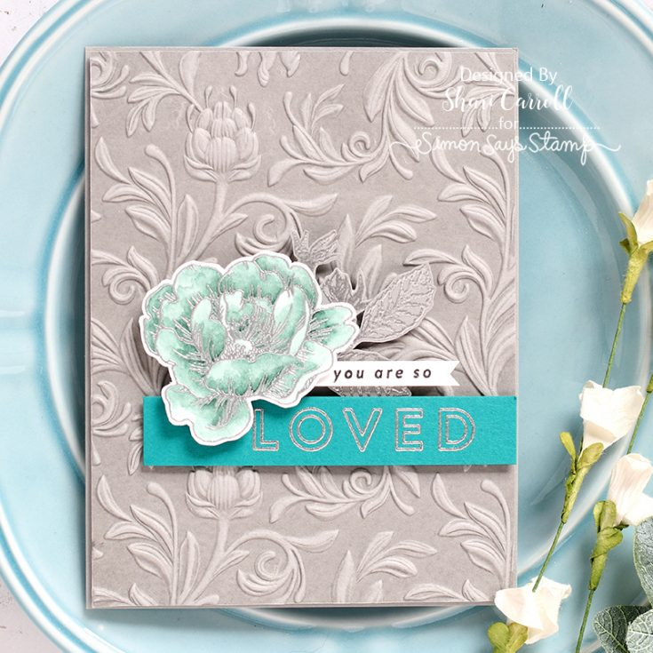 Shari Carroll, Card Kit, 3-D Embossing Folder