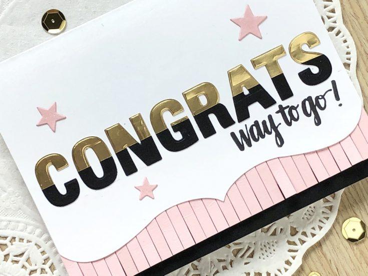 Congrats! Way to GO!