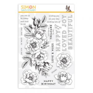 Beautiful Flowers, Simon Exclusive, Card Kit