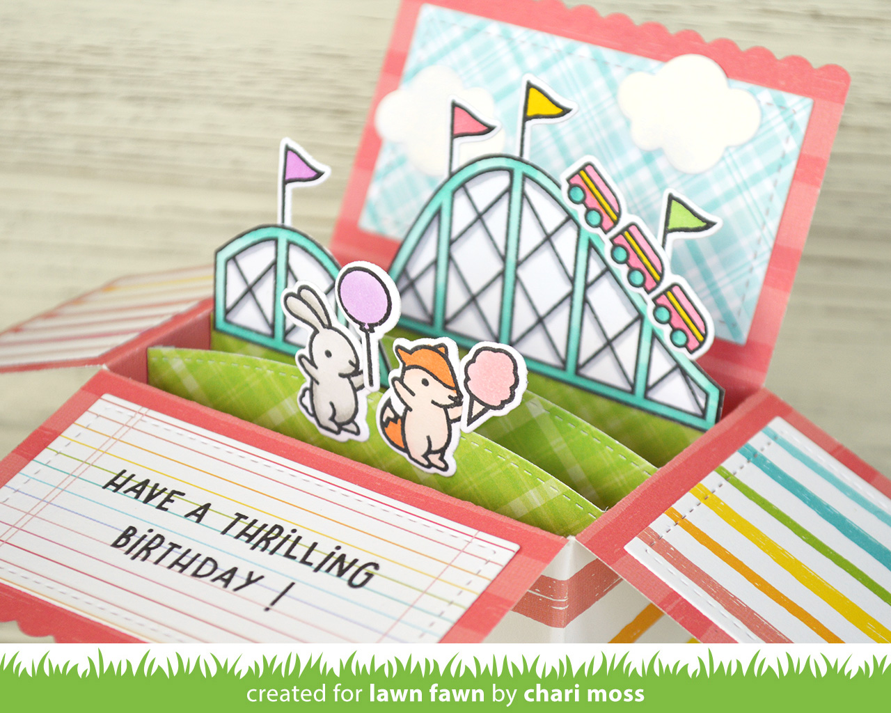Thrilling Scalloped Box Card Pop-Up