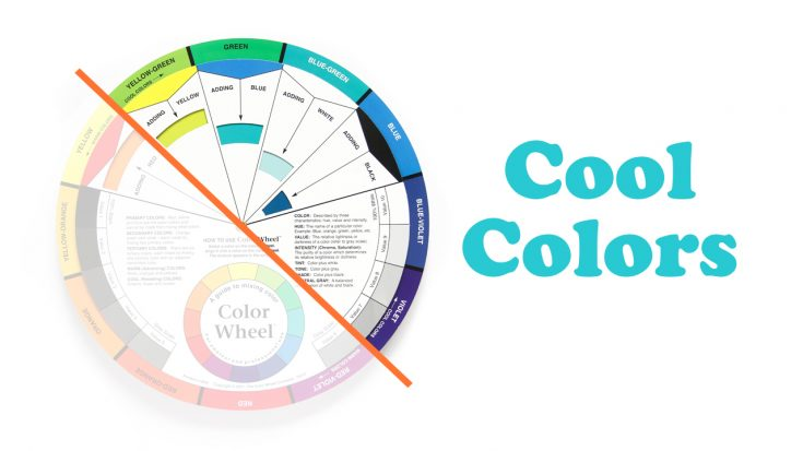 Cool Colors, Shari Carroll, Acrylic Pouring