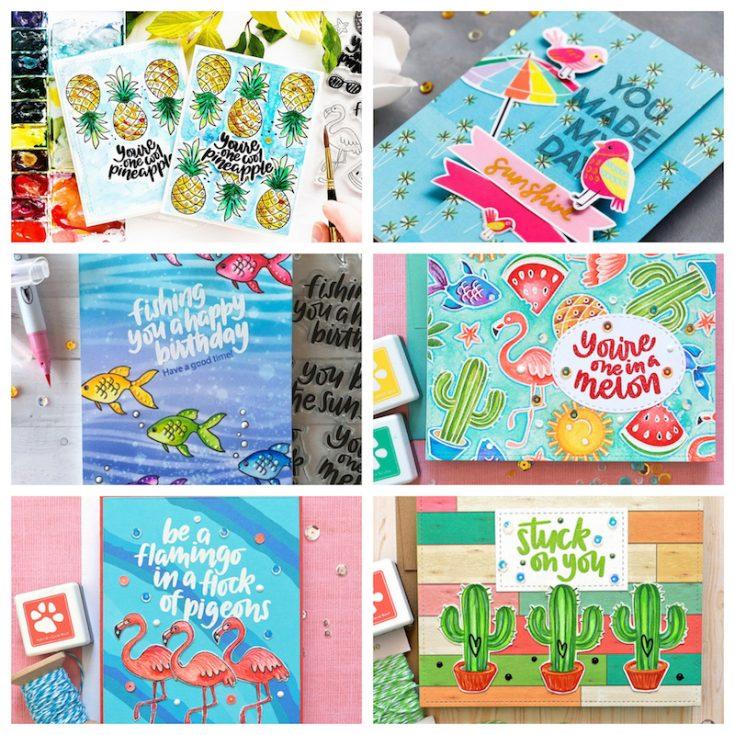 July 2018 card kit inspiration