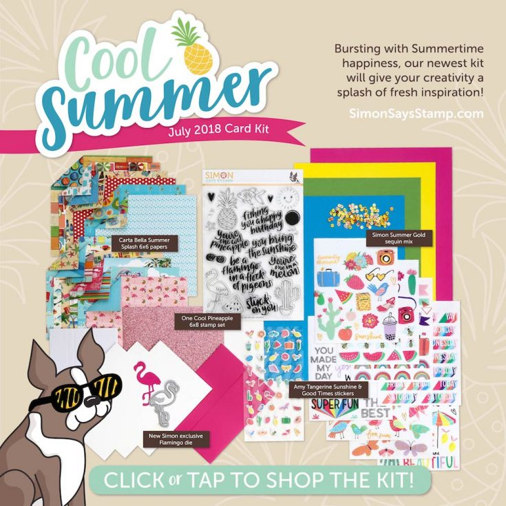 Cool Summer Card Kit