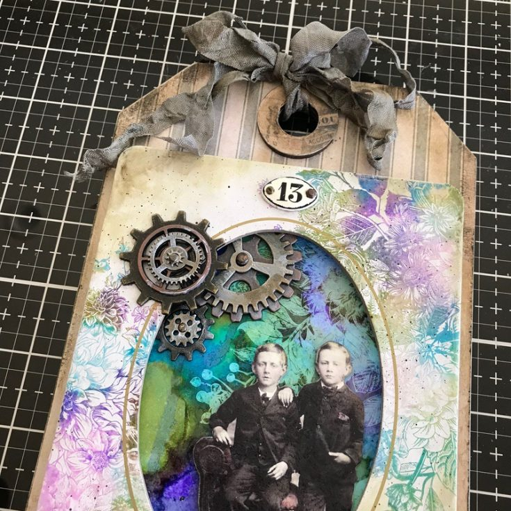 Be Brave Etcetera Tag by Paula Cheney