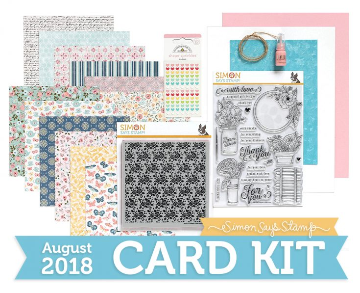 August 2018 Card Kit Mandy's Flowers
