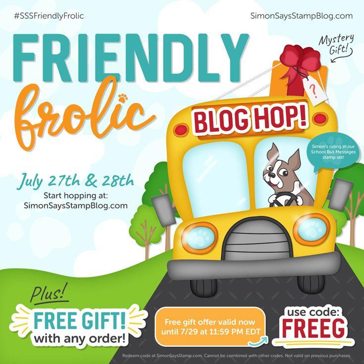 Friendly Frolic Blog Hop