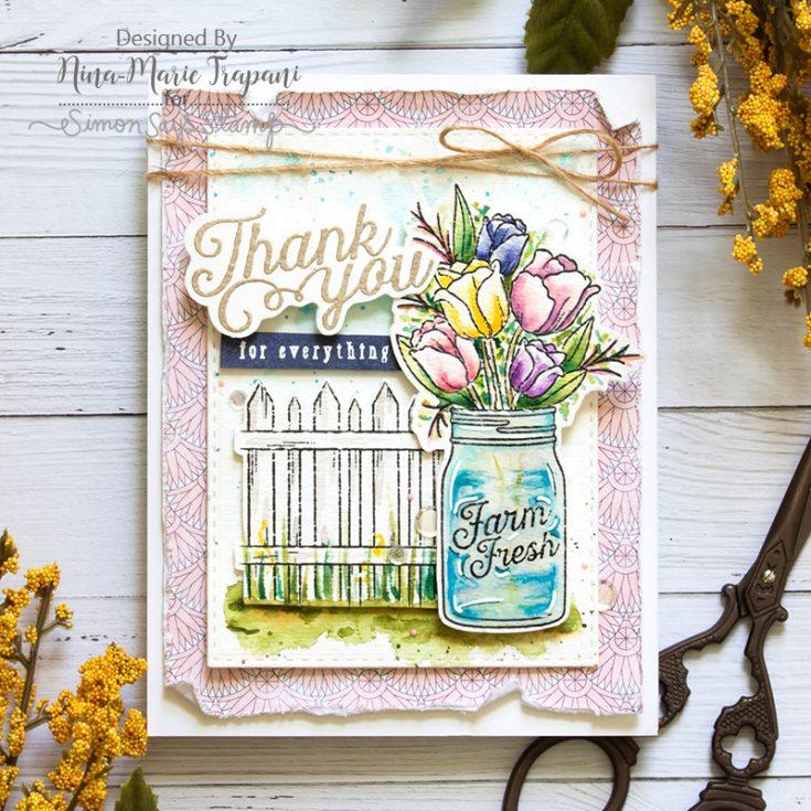 Nina Marie, Card Kit, Mandy's Flowers