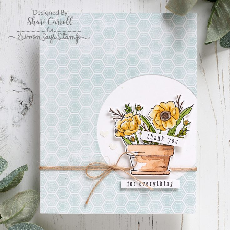 Shari Carroll, Mandy's Flowers card kit