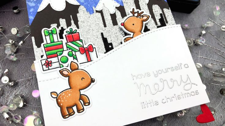 Interactive Cards by Jess: Kissing Critters Pivot Card