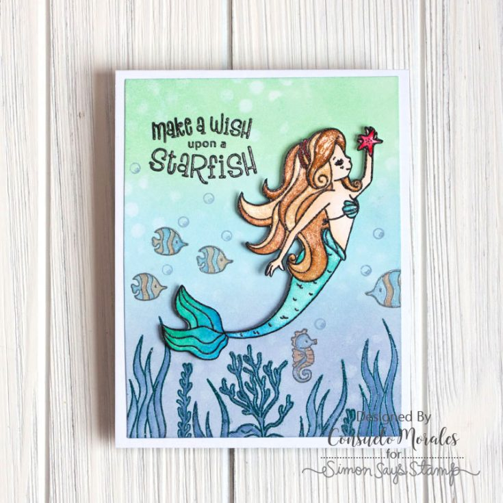 Sea Treasure, Consuelo Morales, September Card Kit