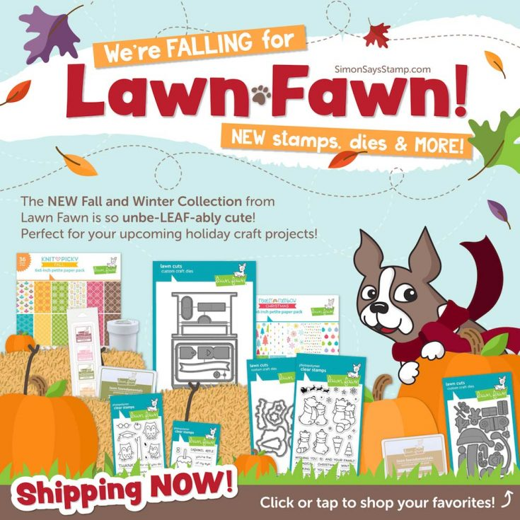Lawn Fawn August 2018