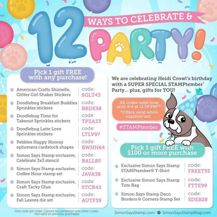 12 ways to celebrate and party