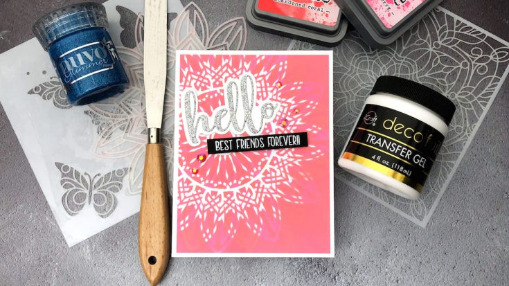 Crafty Quintet: 5 Ways to Use Stencils!