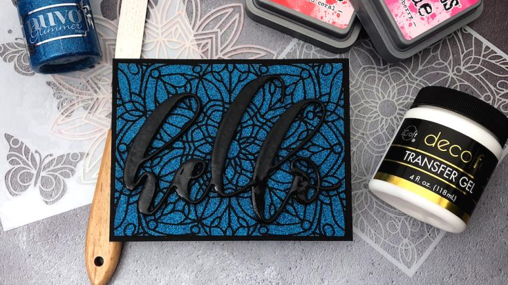 Crafty Quintet: 5 Ways to Use Stencils!