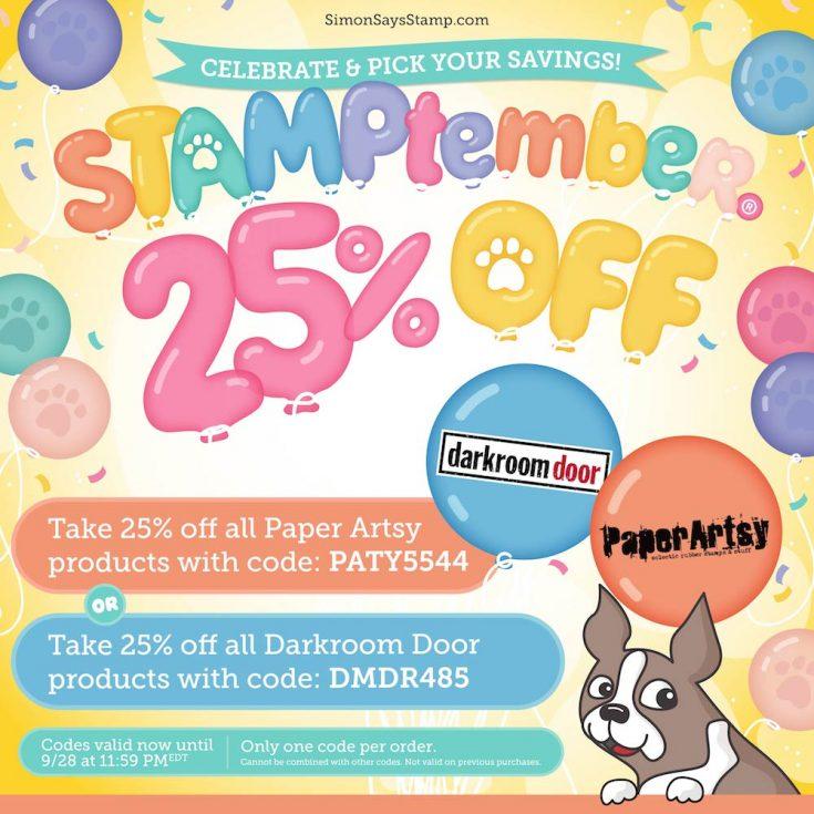 STAMPtember sales