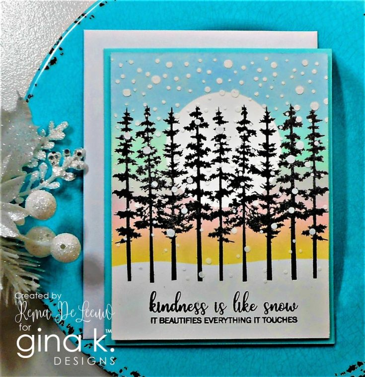 Gina K Designs STAMPtember inspiration