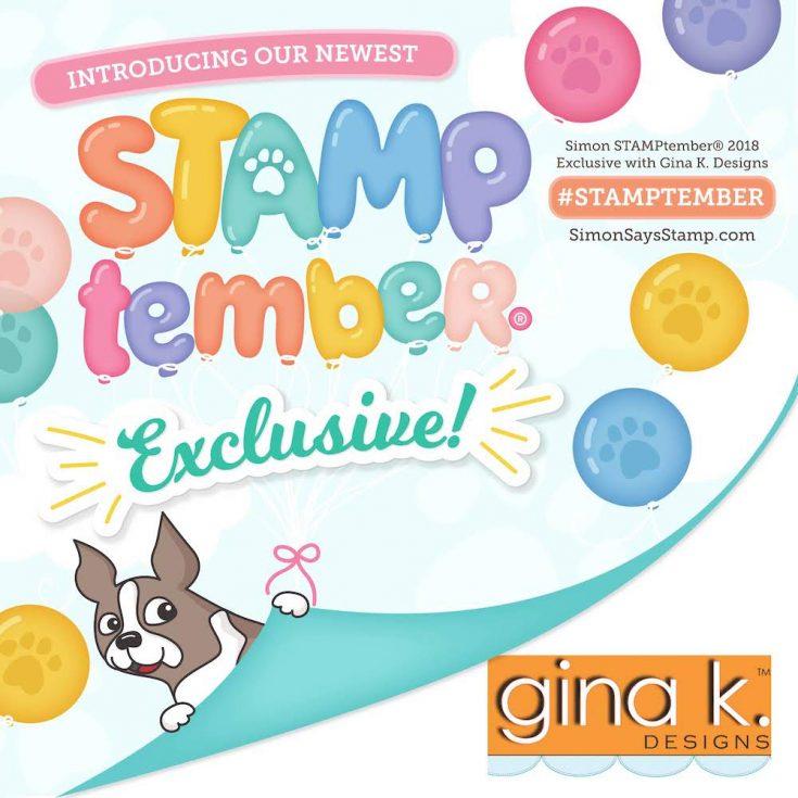 Gina K Designs STAMPtember inspiration
