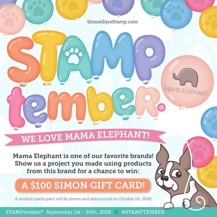 Mama Elephant STAMPtember