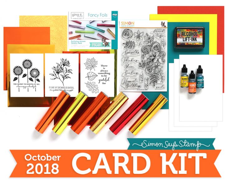 October 2018 Card Kit