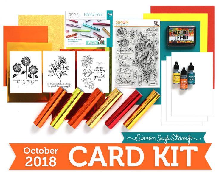 October 2018 Card Kit