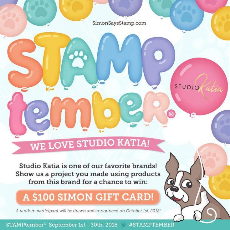 STAMPtember Studio Katia