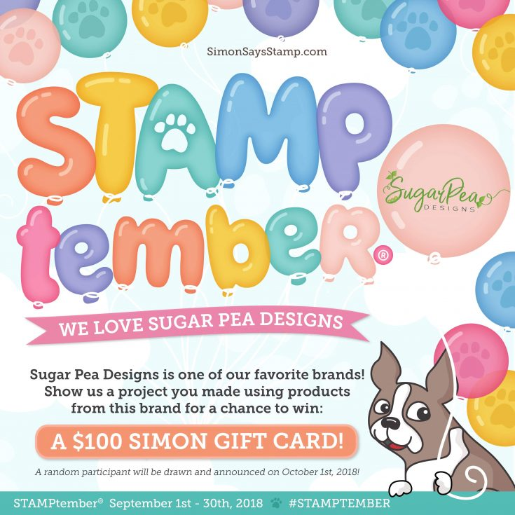 Sugar Pea Designs Clear Stamps CUDDLY CACTI sss101925 STAMPtember Exclusive