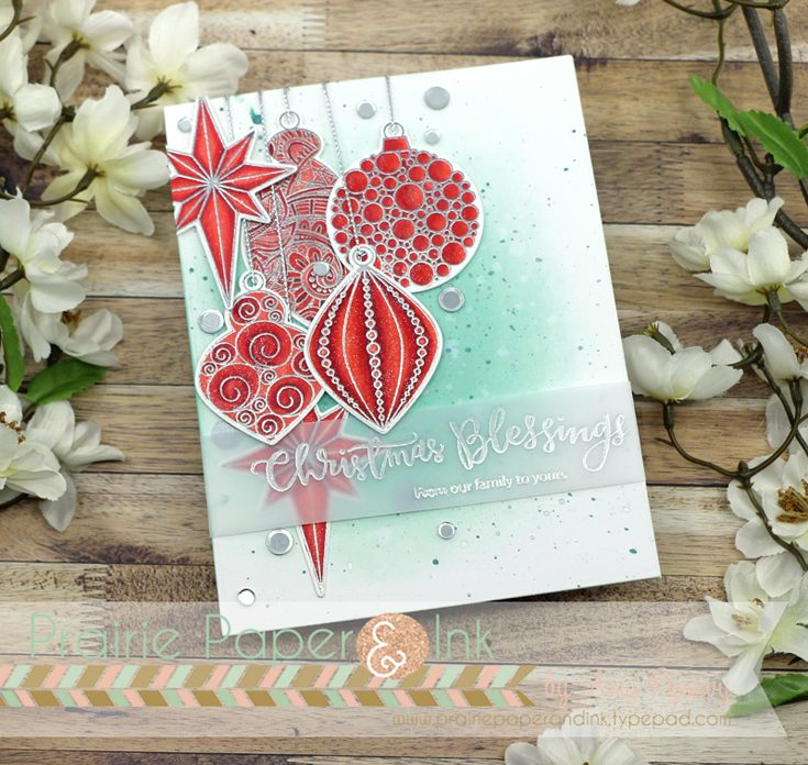 Simon Says Stamp World Card Making Day 2018 featuring Ornate Ornaments by Amy Rysavy