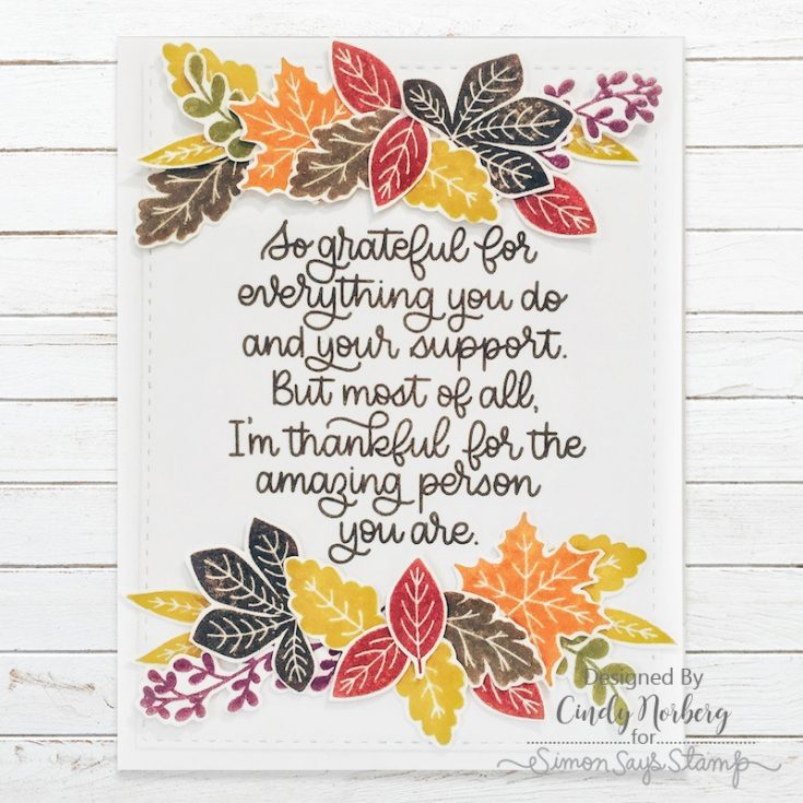 Cindy Norberg, November Card Kit