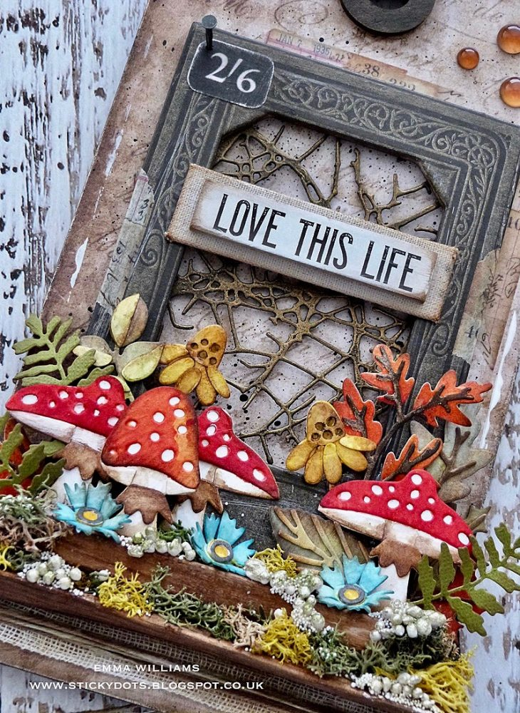 Love this Life: Funky Foliage Tag