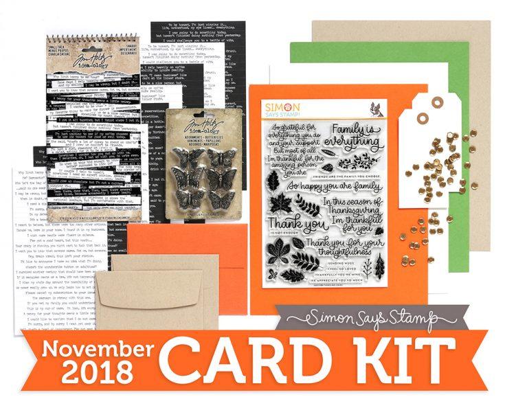 November Card Kit, Card Kit,