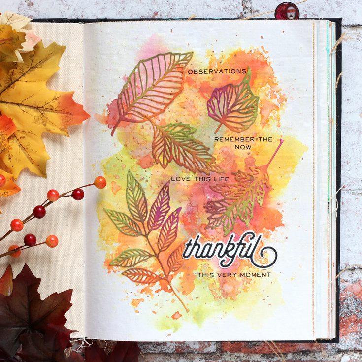 Shari Carroll, Art Journaling, Distress Oxides