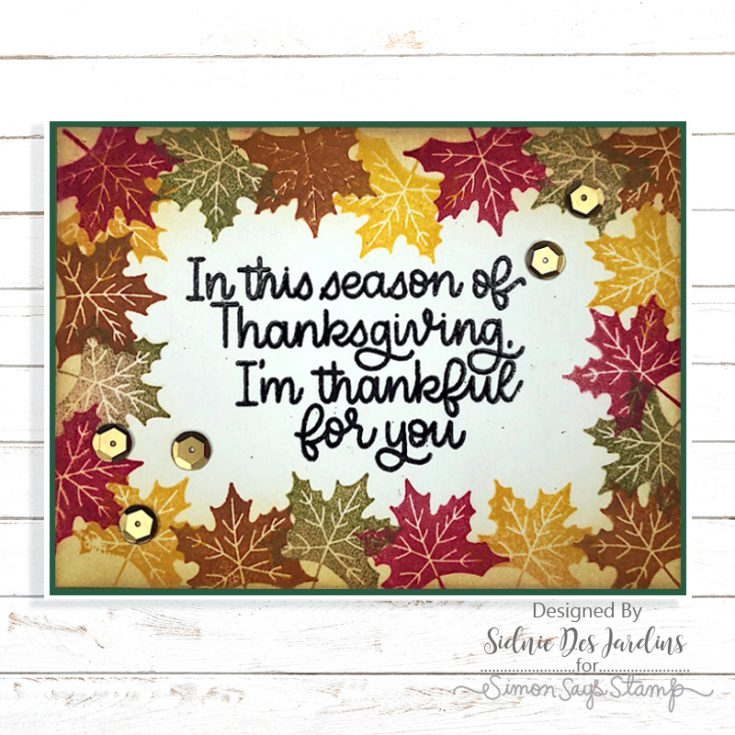 Sidnie Des Jardins, November Card Kit