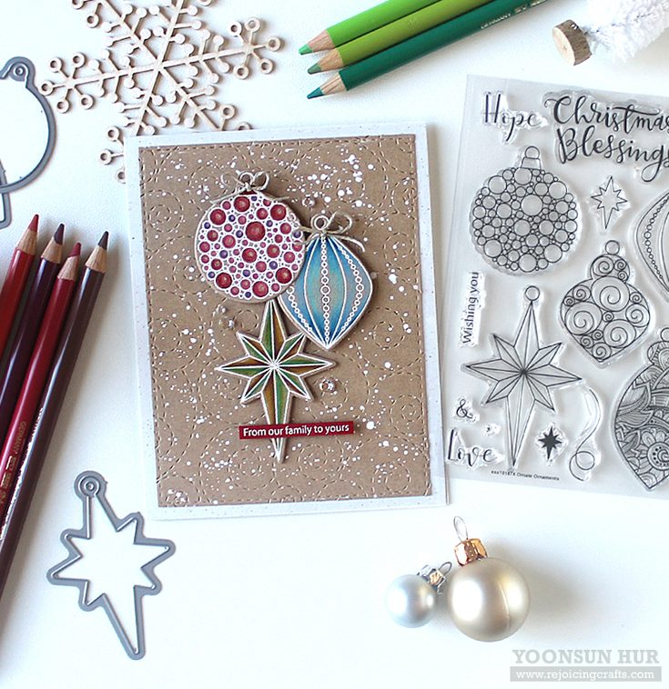 Simon Says Stamp World Card Making Day 2018 featuring Ornate Ornaments by Yoonsun Hur