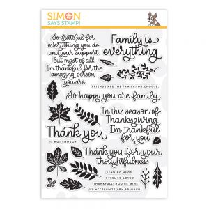 sss101894 Thanks and Leaves November Card Kit
