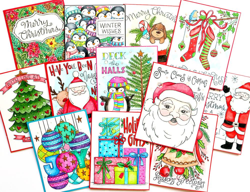 Happy Holidays Suzy's Watercolor Prints