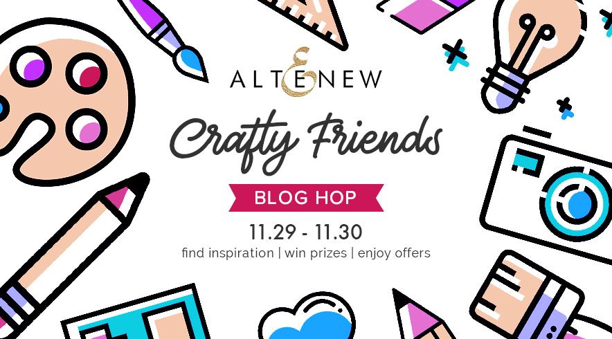 Altenew, Blog Hop
