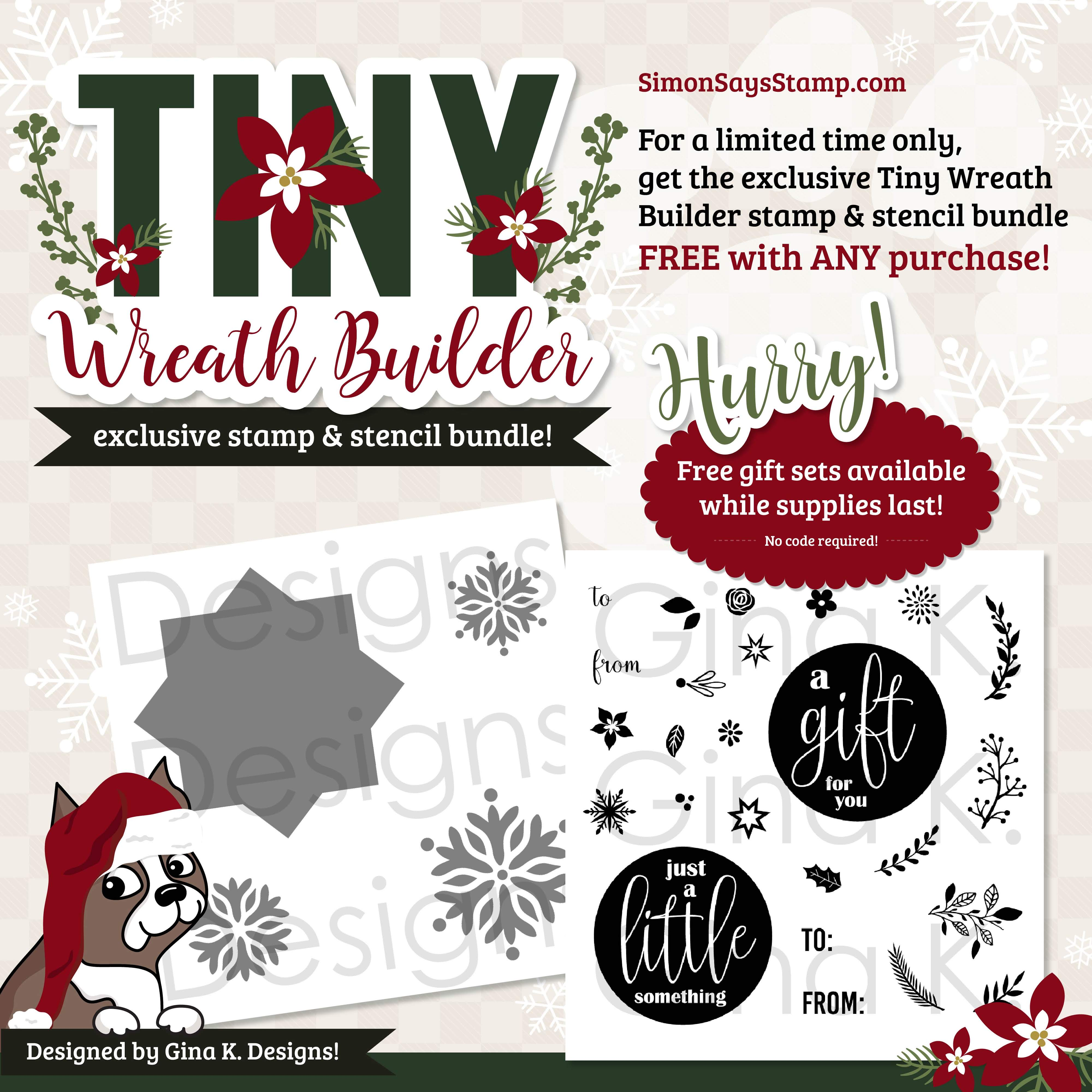 Gina K Designs Tiny Wreath Builder
