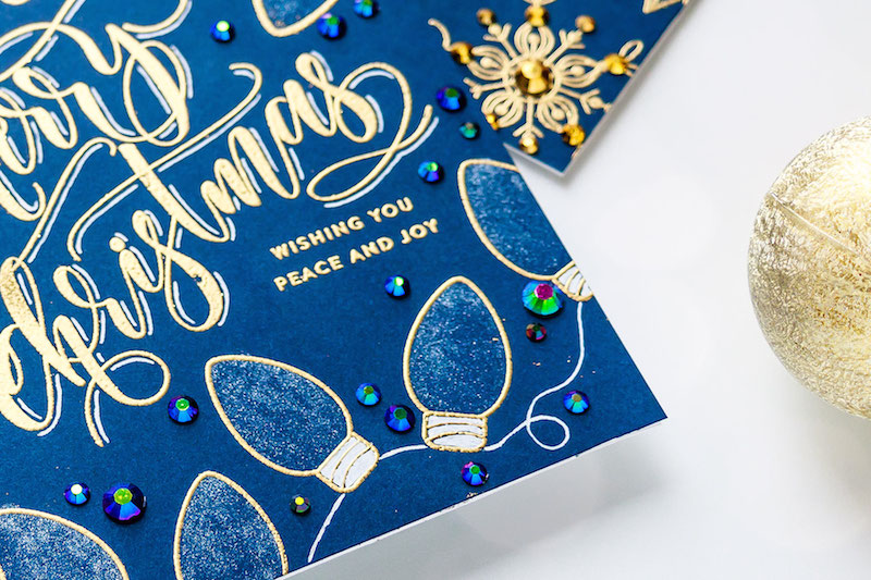 Yippee for Yana: Caligraphy-Like Christmas Cards