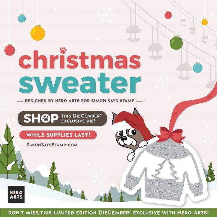 Hero Arts Christmas Sweater