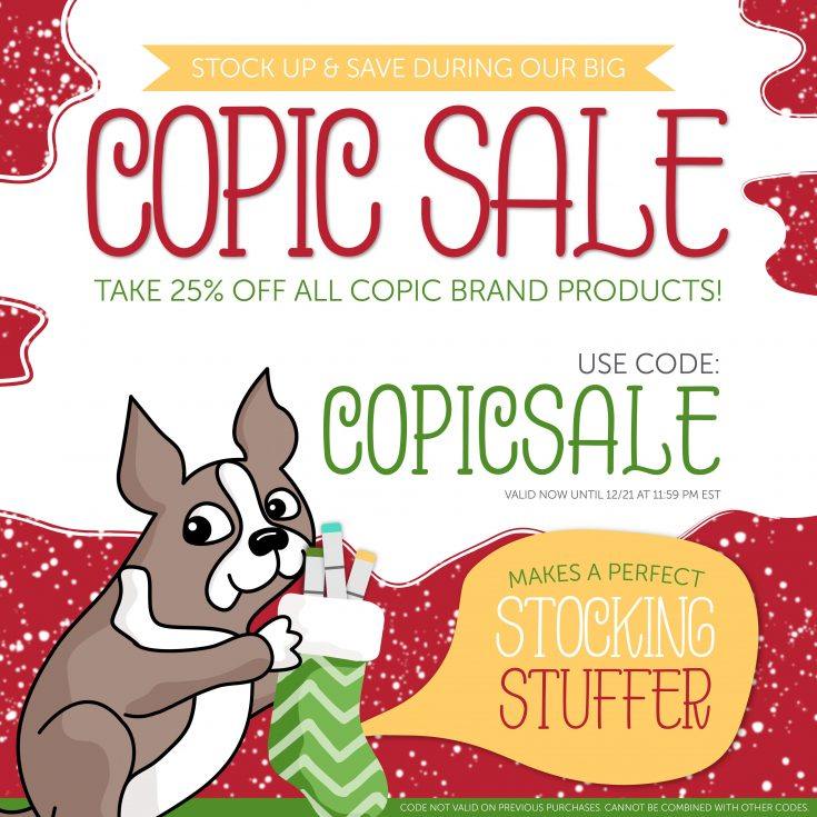 Copic Marker Sale
