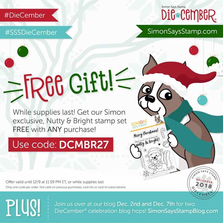 Diecember 2018 Blog Hop free gift