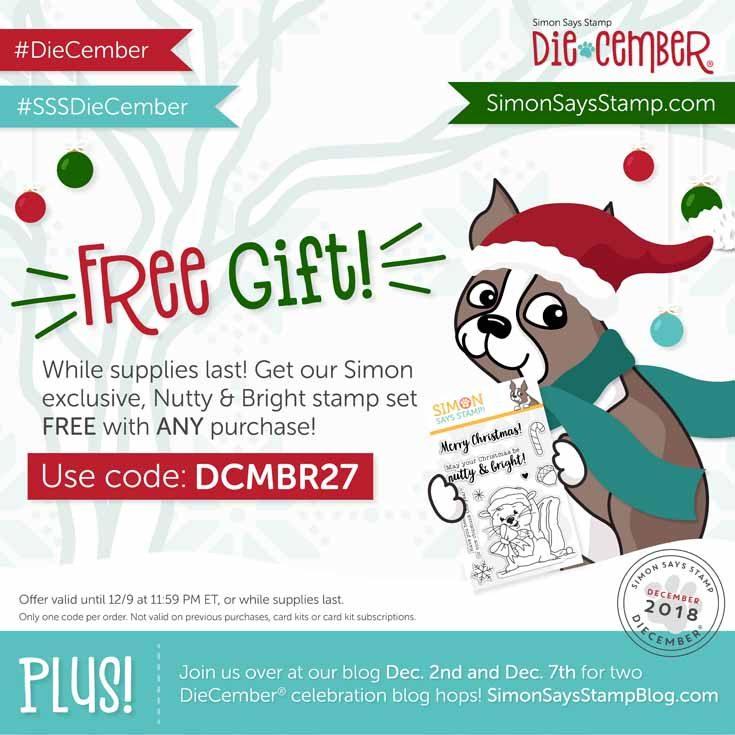 Diecember 2018 Blog Hop free gift