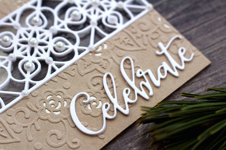 DieCember® Wrought Iron Wide Border