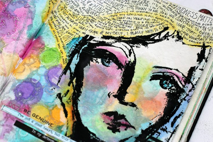Art Journaling, Shari Carroll