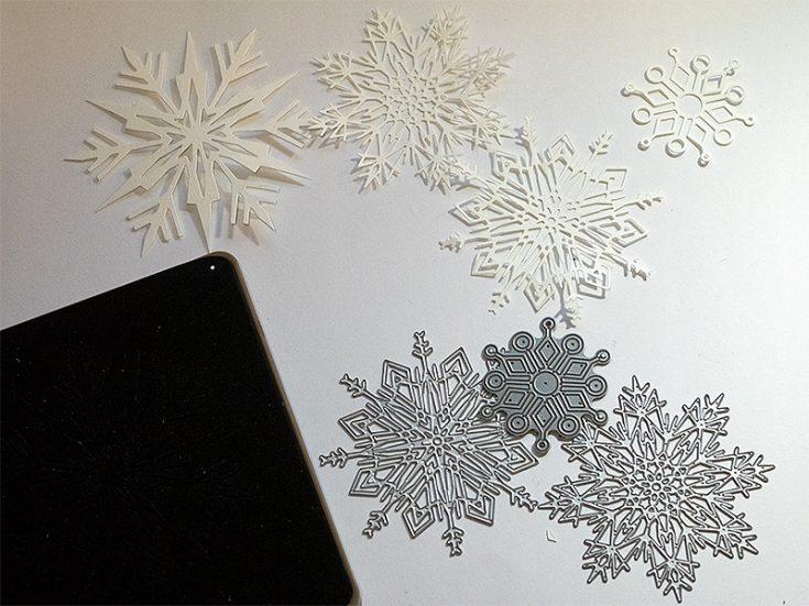 Snowflake Christmas Wall-Hanging