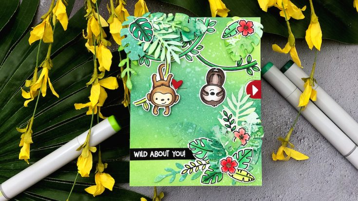 Interactive Cards by Jess: Wild About You Slider Card